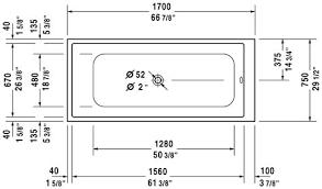 bathtubs superb standard bathtub measurements design