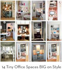 diy office space. Dreamy And Teeny: 13 Impromptu Office Spaces Diy Space O