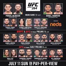 UFC 264 results, live updates, video, Poirier vs McGregor 3, main event,  full fight card - FIGHTMAG