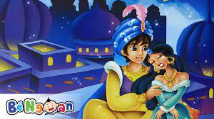 Truyện Công Chúa Jasmine và chàng Aladdin ~ Những Nàng Công Chúa Nổi Tiếng  - YouTube