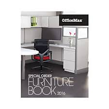 2016 ficeMax Special Order Furniture Catalog by fice Depot