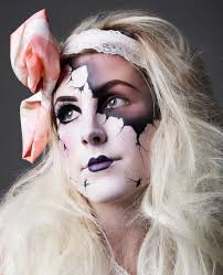 makeup ed porcelain doll that shading is amazing