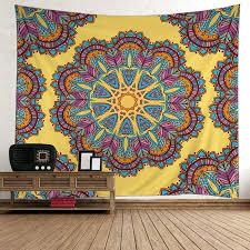 textile wall hangings mandala polyester fabric wall hanging tapestry inch inch fabric wall hangings nz textile wall hangings
