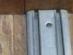 sliding closet door rollers and tracks
