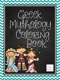 free greek mythology printable coloring pages