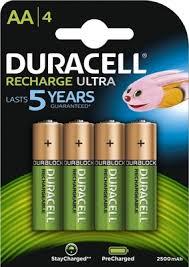 <b>Аккумулятор</b> Duracell Hr6-4bl AA NiMH 2400mAh (4шт) — купить в ...