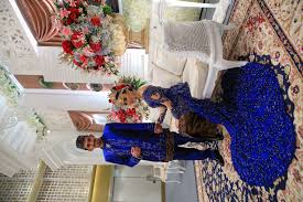 Betawi and Javaneese wedding in Blue by Bridestory