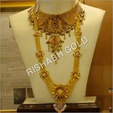 traditional rani gold necklace gender