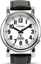 "lifemax talking watches including rnib models watch shop comâ""¢ mens lifemax talking radio controlled solar powered watch 430"