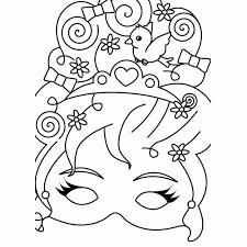 Kleurplaat Prinses Fantastisch Kleurplaten Maskers Prinsessen