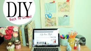 diy wall organizer desk accessories back to school ideas