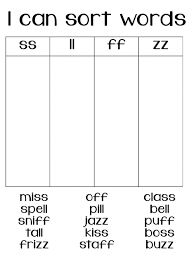 Free interactive exercises to practice online or download as pdf to print. Double Final Consonants Worksheet