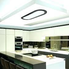 interior architecture elegant ceiling mounted range hood of with built in lighting la 90 cosmic