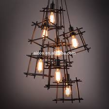 outdoor lovely chandelier metal frame 26 stunning new decorative hanging pendant lights square edison bulb modern