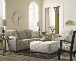 Living Room Chairs With Ottoman Living Room Interesting Living Space Idea Presented With Soft
