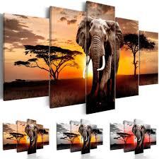 <b>Hot Sell</b>( No Frame )<b>5 Pieces</b> Canvas Print Modern Fashion Wall Art ...