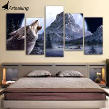 Superb Wolf Bedroom Decor Medium Size Of Printed The Font B Wolf B Font Howl Moon  Font