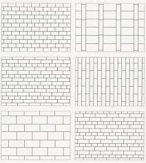 A great guide for different tile layout.