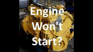 cat engine won t start troubleshooting diesel engine crank no start cat engine won t start troubleshooting diesel engine crank no start