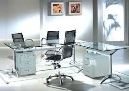glass corner office desk. Medium Size Of Corner Office Desk Uk Black Glass O