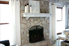 fake stone fireplace ideas large size of for painted white f painted brick fireplace stone