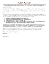 Cover Letter For Customer Account Manager Adriangatton Com