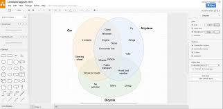 How To Create Venn Diagram In Word Diagrams Create Venn Diagrams With Draw Io Draw Io Draw Venn