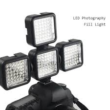 Portable Camera Photo Lighting LED Video Photography Fill Light ...