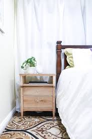 diy tall nightstand build plans
