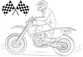 Explore 623989 free printable coloring pages for your kids and adults. Best Dirt Bike Coloring Page For Kids And Adults Bike Drawing Drawing Tutorial Bike Drawing Simple