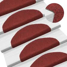 Tidyard <b>15 pcs</b> Self-adhesive <b>Stair Mats Stair Treads</b> Stair Carpet ...