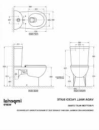 The Images Collection Of Toilets Dimensions Toilet Diions