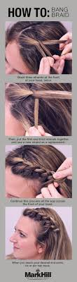 Your Perfect Hair Style 10 easy hairstyles for bangs to get them out of your face french 8380 by stevesalt.us