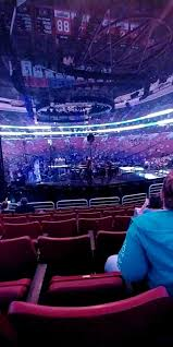 Wells Fargo Center Section 218 Row 17 Seat 10 Justin