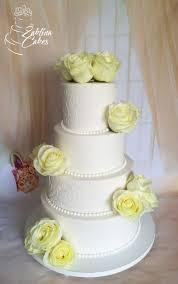 Elegant Wedding Cake Cake By Zaklina Cakesdecor