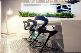 modern office plants. Wonderful Modern Office Design With White Pipes Exposed : Potted  Plants Inside A Modern Office Plants R