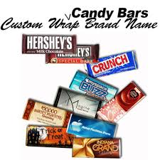 candy brands names. Brilliant Brands Custom Wrapped Brand Name Candy Bars Intended Brands Names