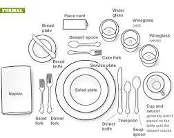 formal dining table setting. Entrancing Formal Dining Table Place Settings Setting T