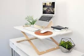 portable desk riser
