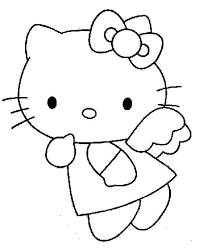 Halloween is so much fun! Hello Kitty Angel Hello Kitty Coloring Hello Kitty Colouring Pages Kitty Coloring