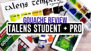 Review Demo Royal Talens Gouache