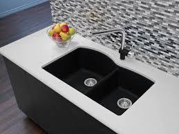 Blanco 400077 Diamond U 1 34 Double Bowl Undermount Silgranit Kitchen Sink Anthracite