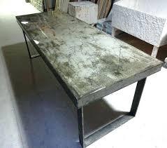 cool concrete table top round concrete