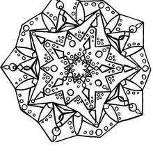 Small Picture Mandala 75 Coloring page MANDALA coloring pages Mandalas for