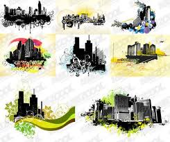 theme urban free 8 the trend of urban architectural theme illustrators