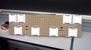 Phased Array Radars Diy Phased Array Radar From Pegboard And Wi Fi Antennas Make