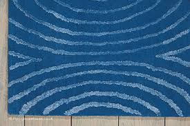 blue rug texture. NEW IN: Vita Waves Blue Rug (texture Close Up), A Contemporary Polyester Texture 7