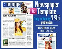 Full Page Newspaper Ad Template 1 2 Page Newspaper Ad Template Newsletter One Wordsmithservices Co