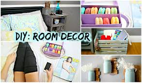 Bedroom  Pretty Diy Room Decor Room Decor And Diy Bedroom On Home Decor Pinterest Diy