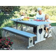 large picnic table heart picnic table benches large format paper woodworking plan large round picnic table cover